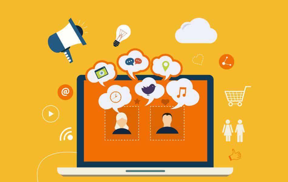 erros podem prejudicar as redes sociais empresariais