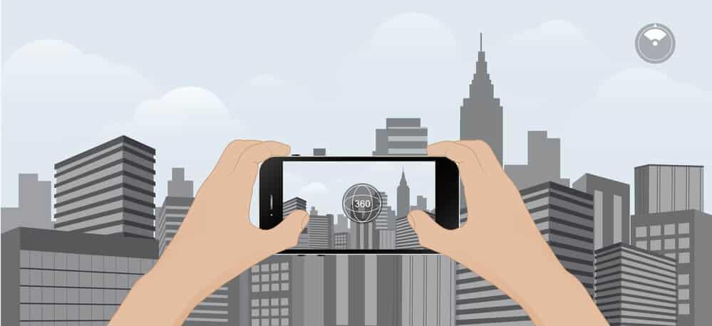 tirar fotos em 360º com google sphere