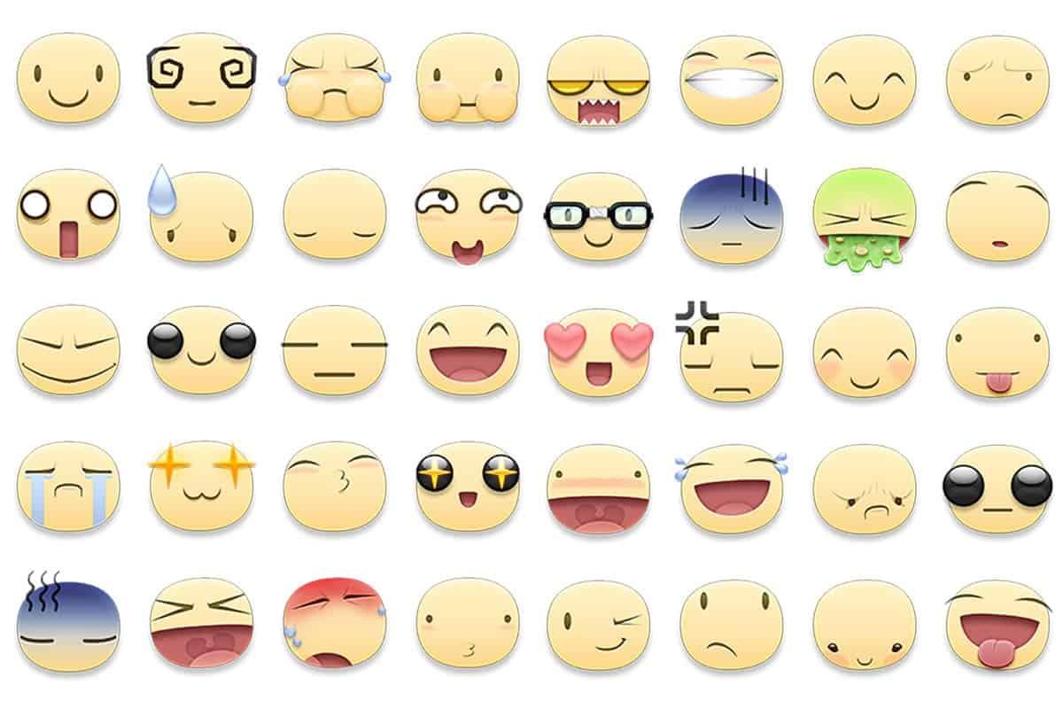 As figurinhas do Facebook são versões gigantes dos emojis e têm outras expressões diferentes das que costumamos ver normalmente
