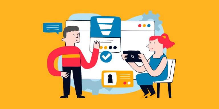 ferramentas marketing e vendas ilustração