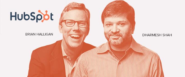 Brian Halligan e Dharmesh Shah Hubpost